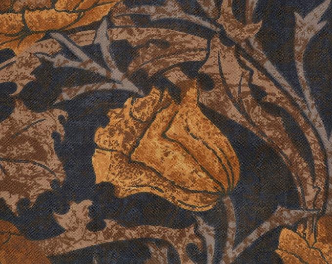 Liberty of London fabric remnants William Morris Art Nouveau floral
