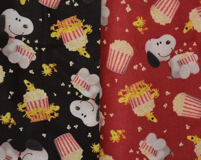 QT fabrics Snoopy fabric movie fabric Woodstock snoopy Peanuts