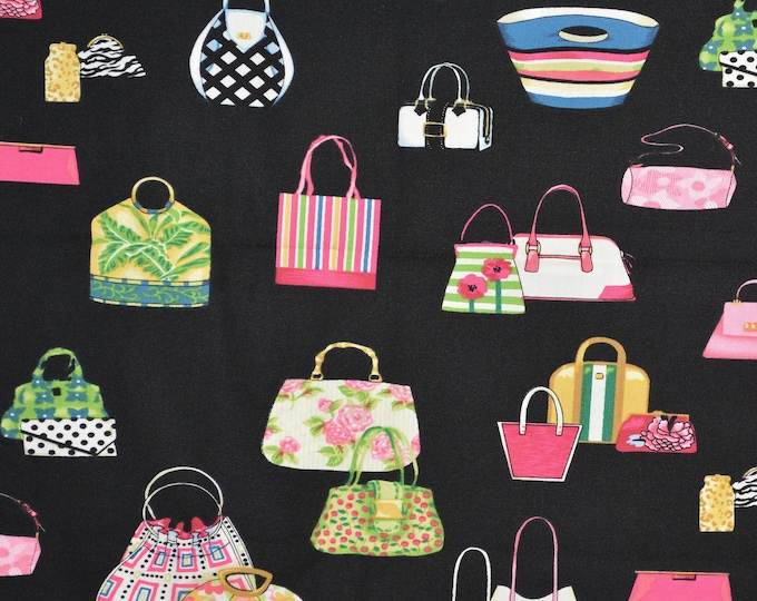 Hand bags and purses fabric, Alexander Henry fabric