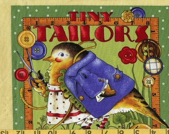 Cloth Fabric book, J Wecker Frisch fabric, Tiny Tailor Tidings of Great Joy