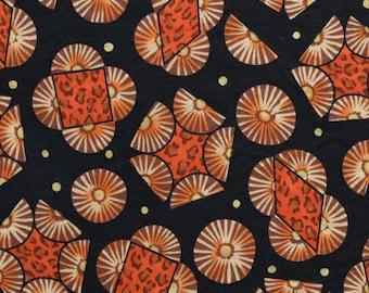 Ethnic tribal print fabric, vintage Peter Pan fabrics