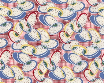 1930s reproduction fabric, Aunt Grace Judie Rothermel