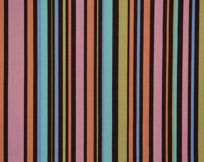 Summer stripe fabric Multicolor stripe fabric Michael Miller