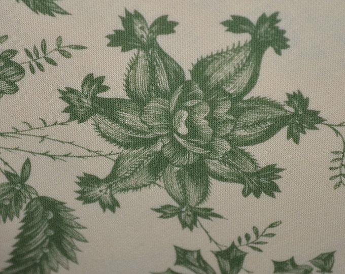 Green Asian toile fabric Chinoiserie fabric upholstery fabric Lee Jofa fabric