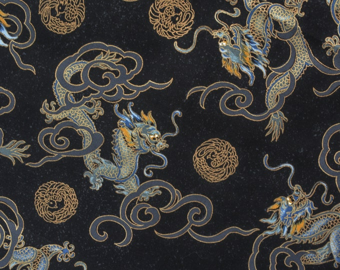 Asian fabric Dragon fabric Japanese fabric Trans Pacific Textiles
