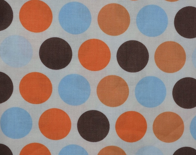 Large polka dots fabric polkadot fabric Colorful polka dot fabric
