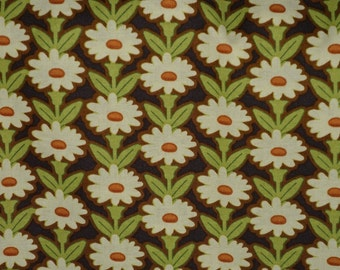 Daisy fabric by the yard, floral fabric, Michael Miller