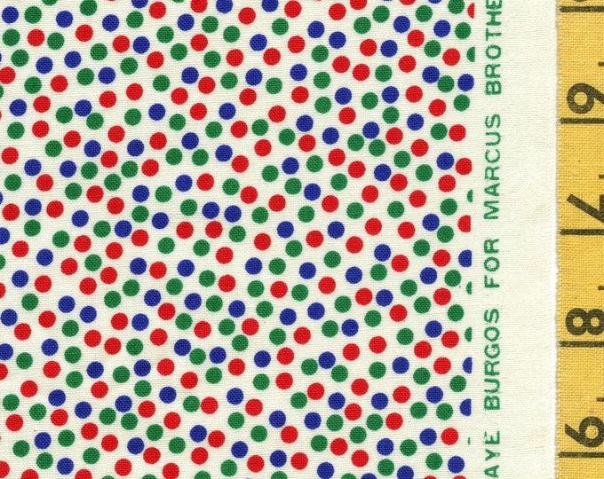 Micro Small polka dots fabric, Faye Burgos