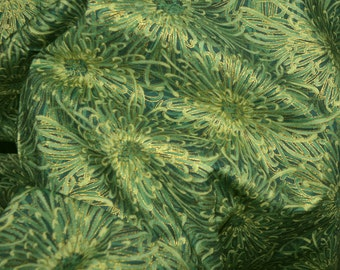 Mandarin Dynasty Asian fabric floral, Hoffman California