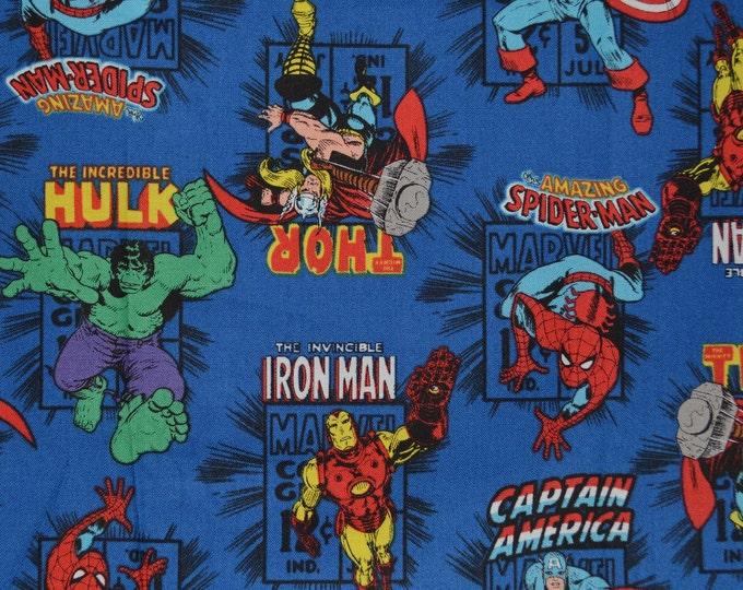 Iron Man Avengers fabric super heroes fabric Marvel comic fabric