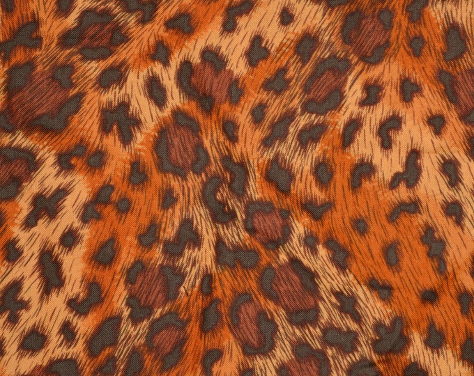 Rare Alexander Henry fabric, big cats fabric, jaguar print