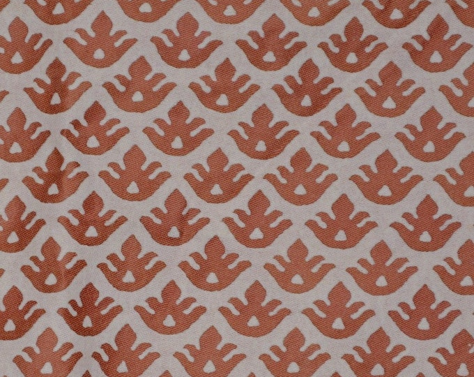 Fortuny fabric rust Canestrelli for Fortuny decor Moroccan Persian decor