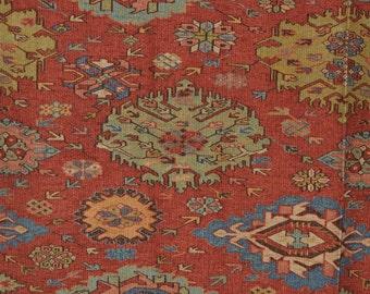 1990s Ibiza Ralph Lauren upholstery fabric, Spanish Bohemian