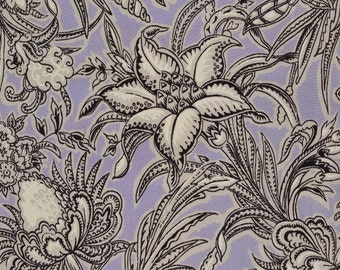 Pure Silk fabrics Lavender floral silk fabric gorgeous silk