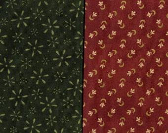 Bonnie Sullivan fabric, Maywood Studio, cockle doodle doo, 2 prints