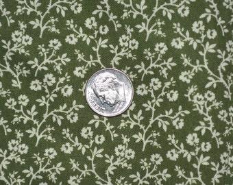 Miniature fabric small scale floral print fabric Cranston fabric