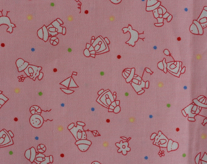 30s reproduction fabric small print Playtime baby girl quilt fabric Henry Glass