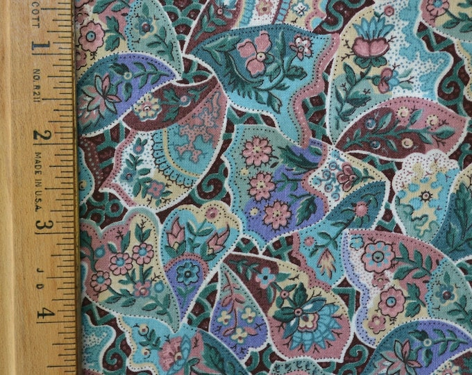 90s fabric Patchwork fabric, butterfly wing inspired, Joan Messmore