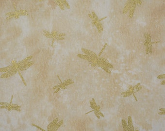 Dragonfly fabric, quilting cotton Ro Gregg Northcott
