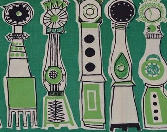 Midcentury Printex fabric, Finland fabric artist Irja Leino pre Marimekko