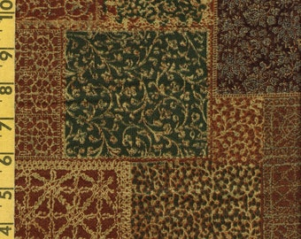 Texture printed fabric, earth tones quilting fabric, Bob Van Osten for Andover
