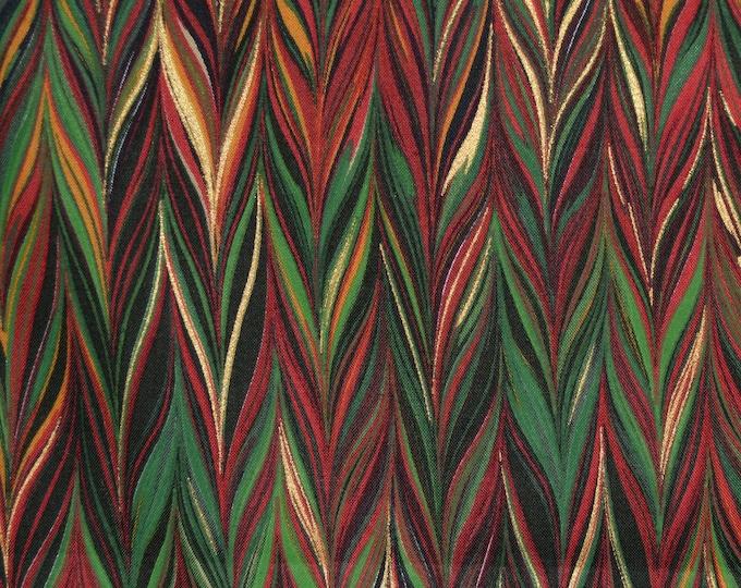 Benartex Paula Nadelstern fabric, marbled fabric