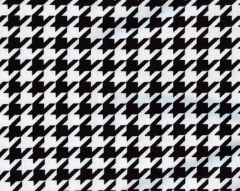 Houndstooth fabric, cotton jersey Riley Blake Designs