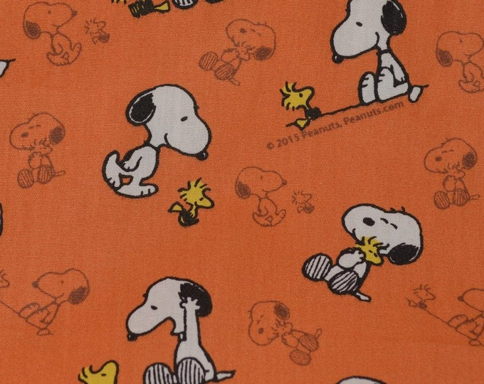 Snoopy fabric Snoopy baby shower fabric Snoopy Woodstock Peanuts Gang