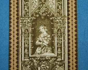Upholstery fabric Brunschwig and Fils, Gothic drapery fabric discontinued