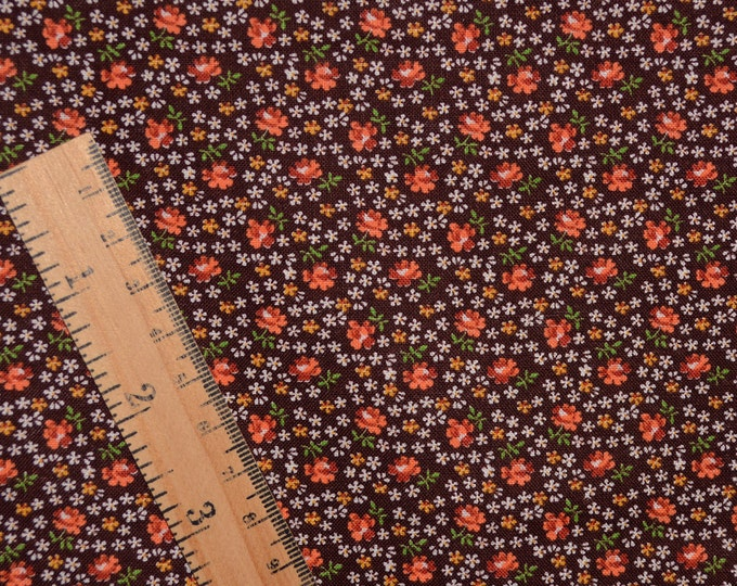 Calico floral fabric, ditsy floral vintage Cranston Print Works, VIP