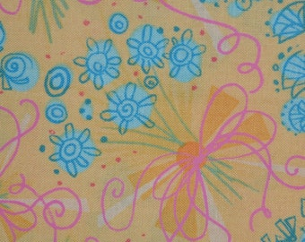 Camelot cottons floral fabric deadstock