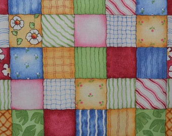 Baby quilting fabric blocks Spring baby fabric Good Ship Noah J Wecker Frisch fabric for SSI
