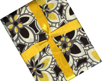 Modern floral fabric from Joann fabric