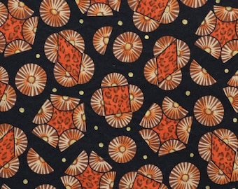 African print fabric, ethnic tribal fabric by the yard