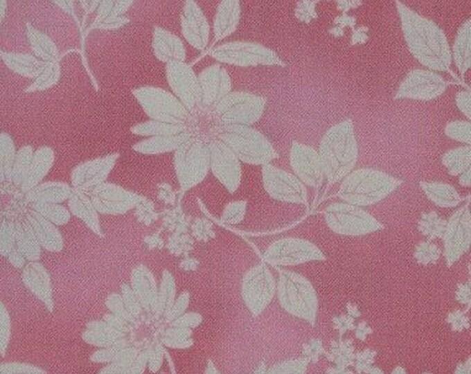 Pink Spring floral fabric, Robert Kaufman fabric