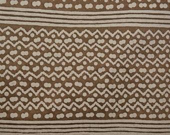 Fortuny fabric, Polynesian Tapa Stripe half yard lengths