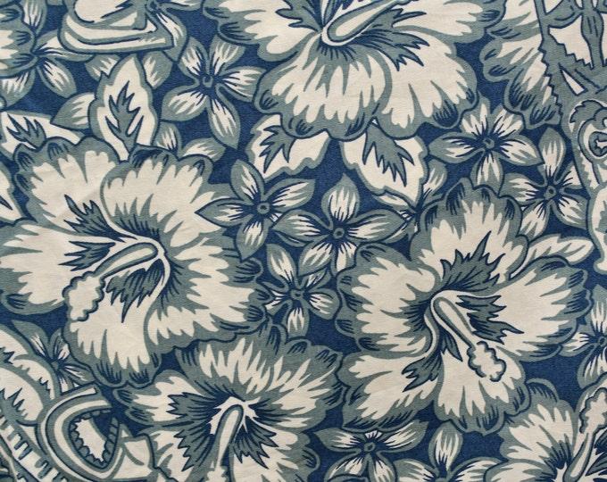 Tropical tiki fabric Hawaiian fabric for Hawaiian shirt