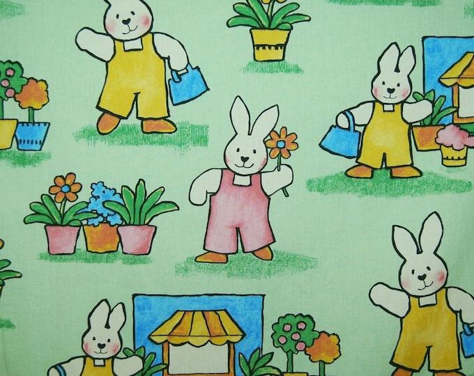 Bunny Rabbit upholstery fabric