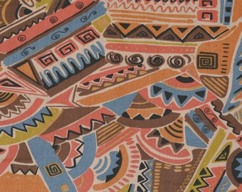 Abstract geometric fabric by the yard