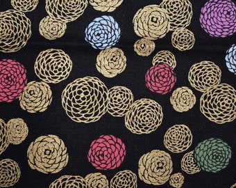Japanese floral fabric mum fabric blank quilting