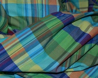 Woven Plaid fabric DIY Brandy Melville skirt