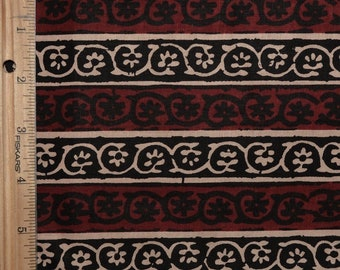 Tribal fabric Striped fabric India block print fabric or African print