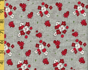 Reproduction floral fabric by the yard, Kaye England for SSI Matters of the Heart