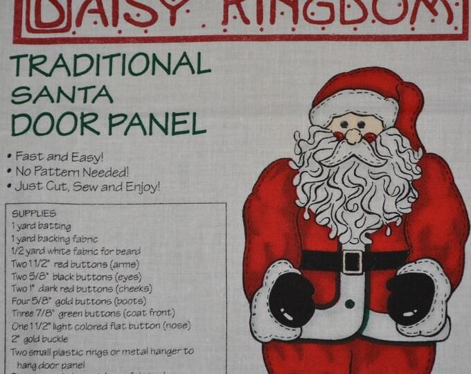 Christmas fabric Santa fabric panel Daisy Kingdom