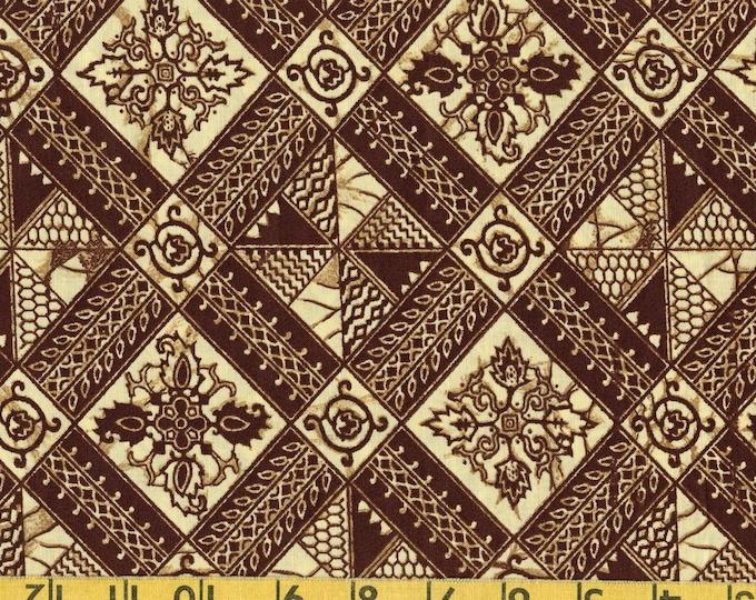 Vintage fabric, plangkan batik print fabric