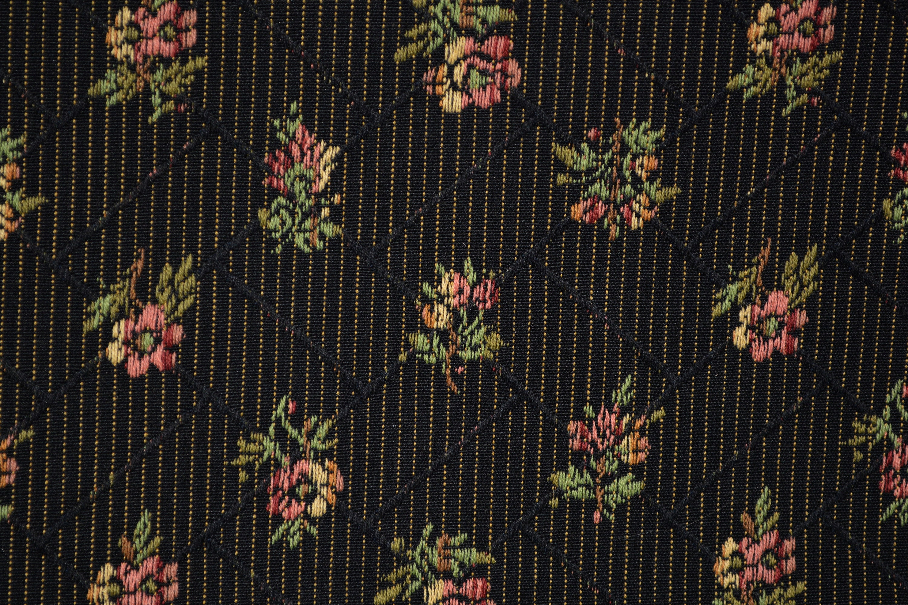 Jacquard Upholstery Fabric Americana Colonial Or Shabby Chic