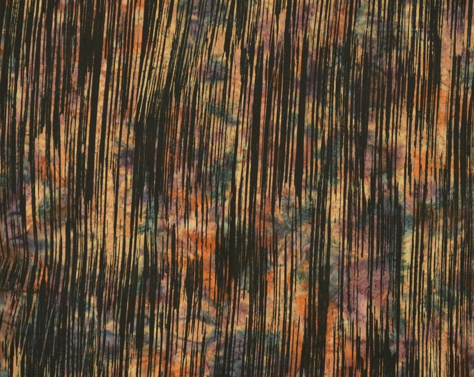 Fall Autumn palette Batik fabric