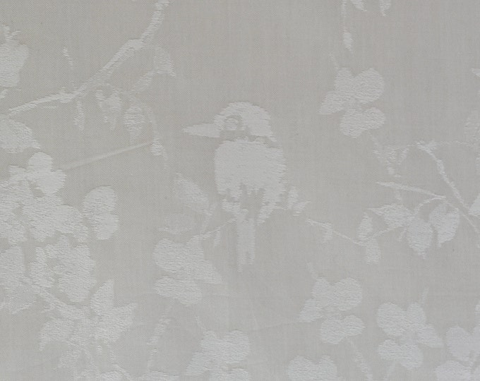 Bella Notte luxury cotton fabric, Woven jacquard 3 yards