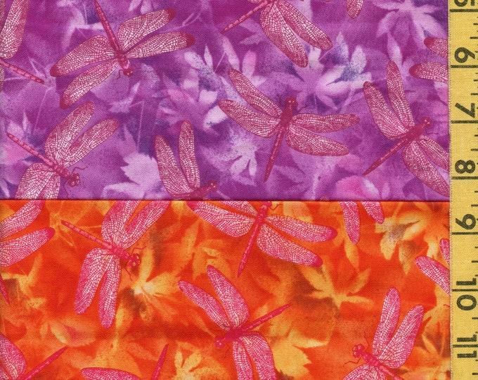 Conversational prints Dragonfly fabric