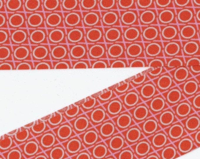 Freespirit fabric bias tape, single fold, Anna Maria Horner